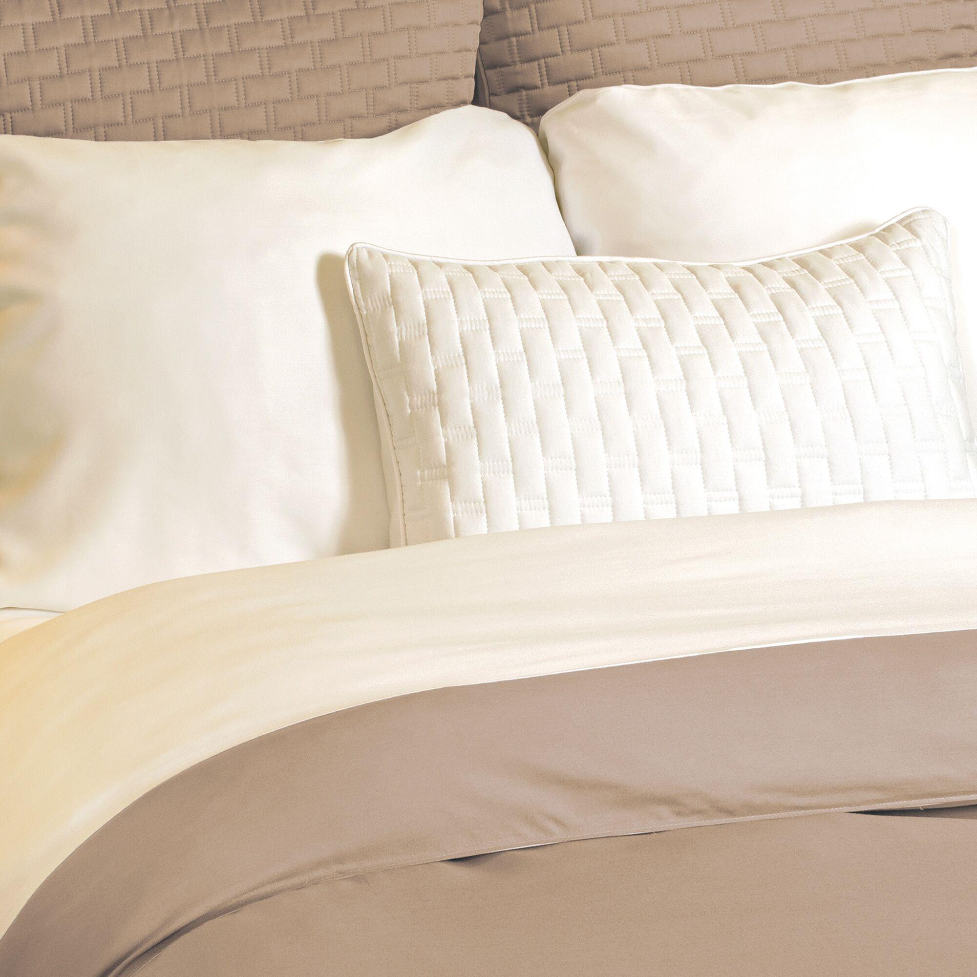 Bamboo Duvet Cover Champagne/Ivory