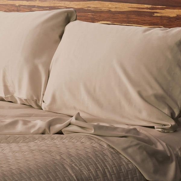 Bamboo Pillowcase Set Champagne