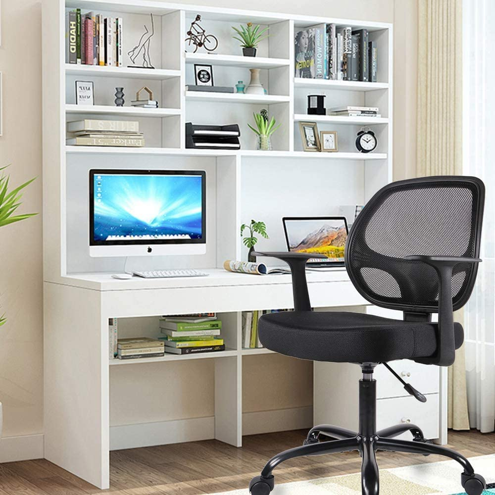 mesh-back-ergonomic-chair-in-an-office-Zavato-Home