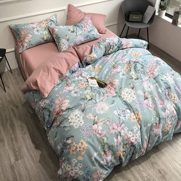 Gympie Chamonix Egyptian Cotton Summer Bed Bedding Set | Guccio Home