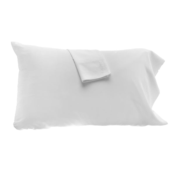 Bamboo Pillowcase Set White
