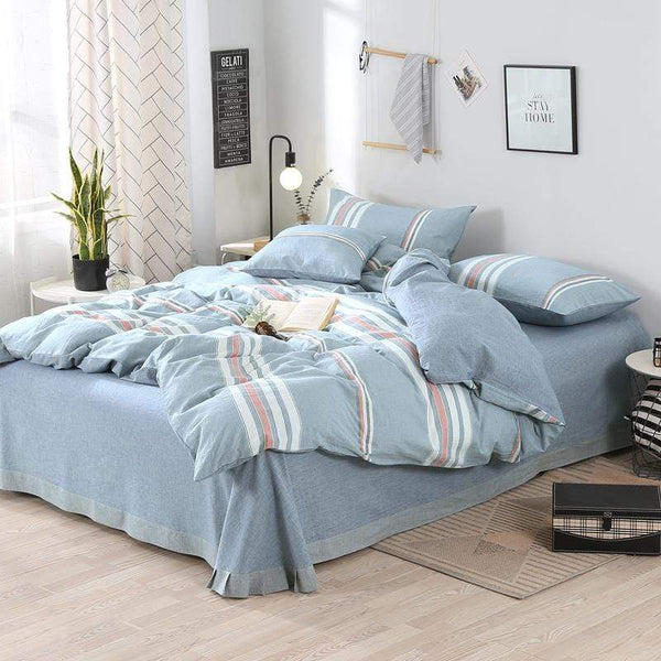 Erina Washed Cotton Ultra Soft Summer Bedding Set