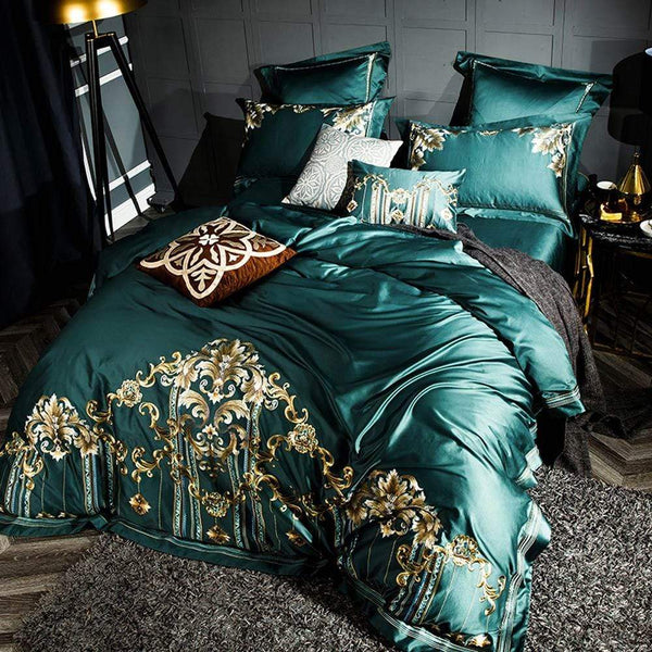 Majestic Natural Egyptian Cotton Bedding Set | Guccio Home