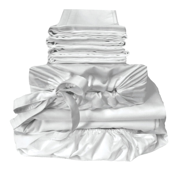 eco-mélange™ Bamboo Cotton Bed Bundles Snow