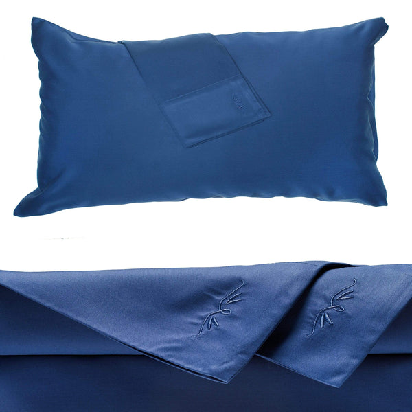 Bamboo Bed Sheet Indigo