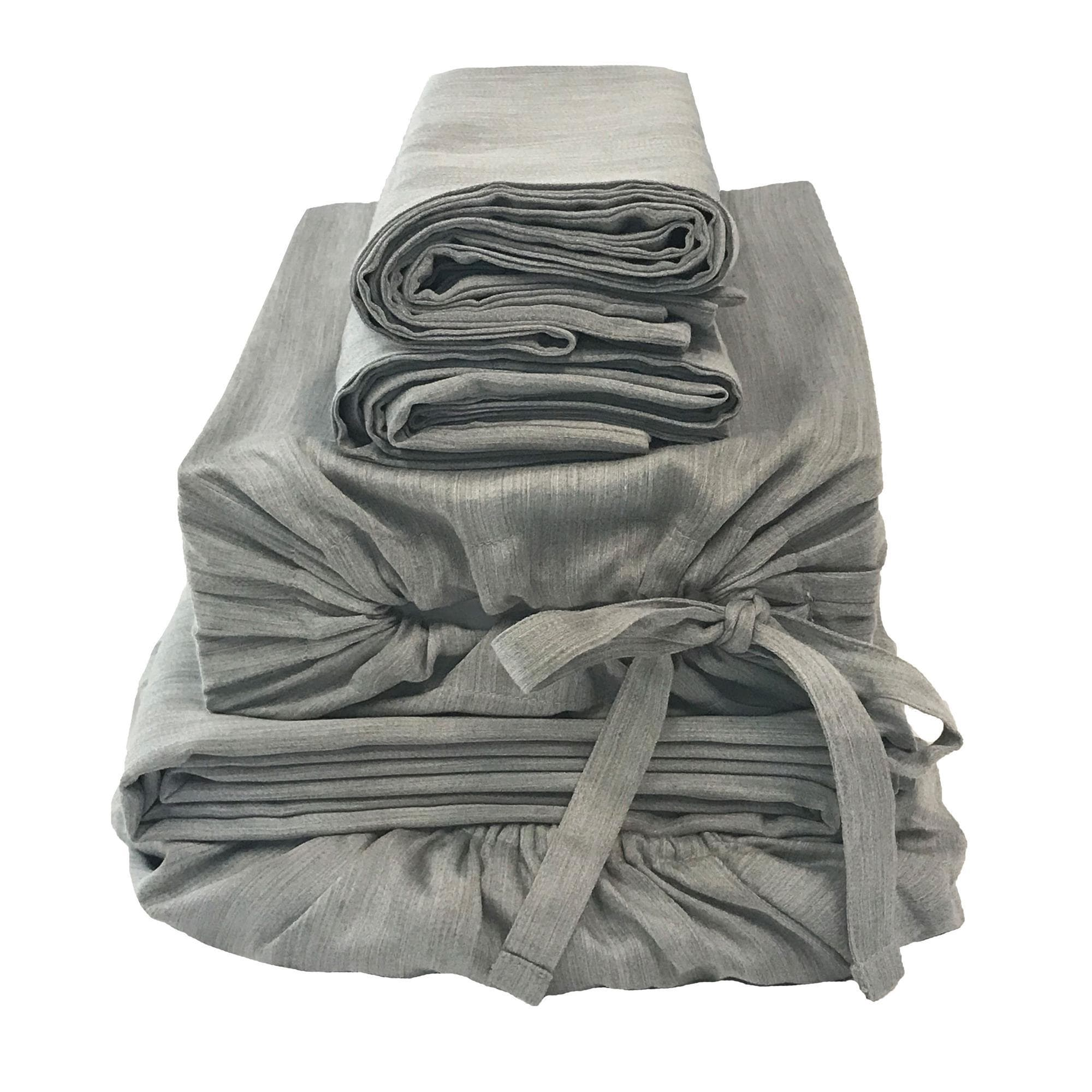 eco-mélange™ Bamboo Cotton Bed Bundles Silver