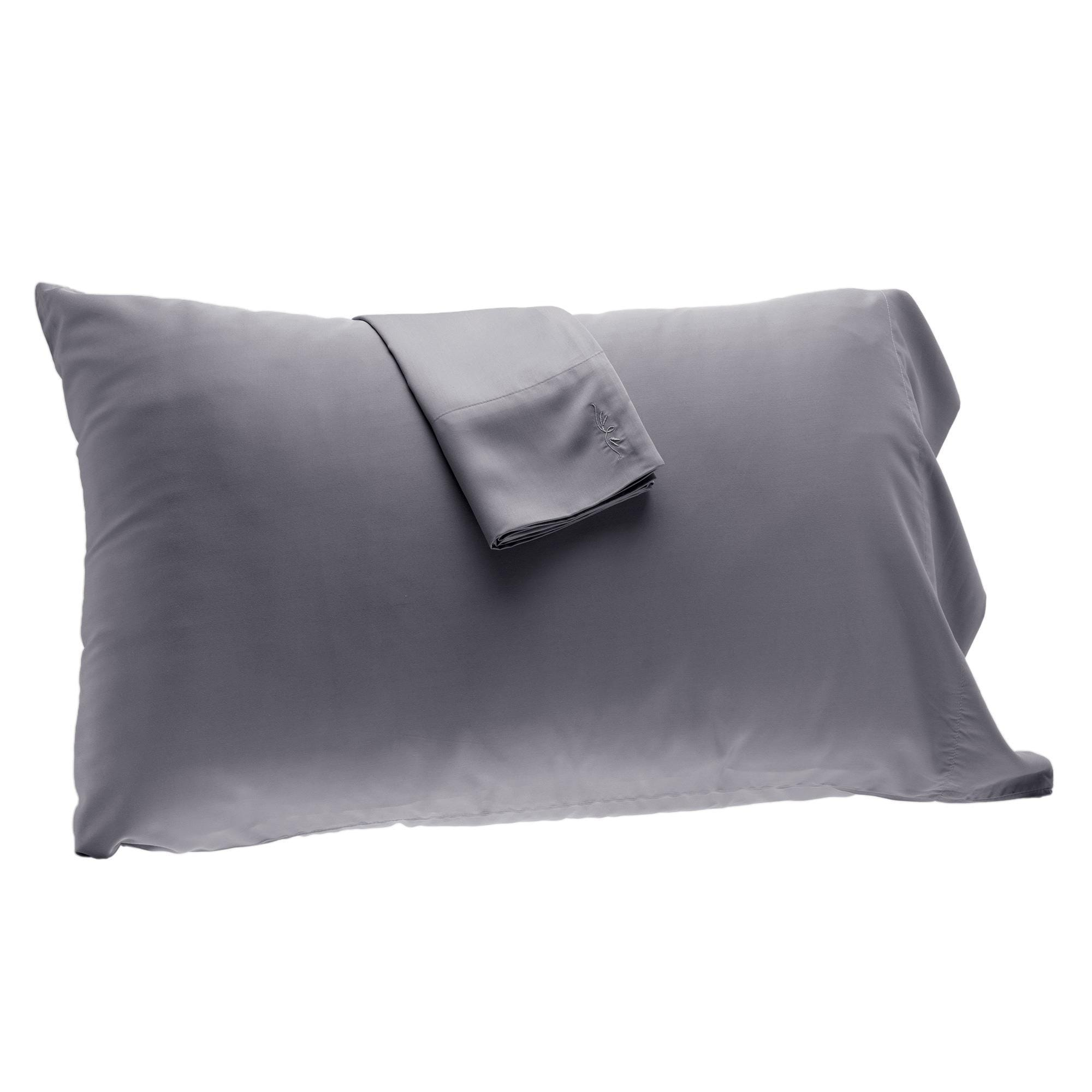 Bamboo Pillowcase Set Platinum