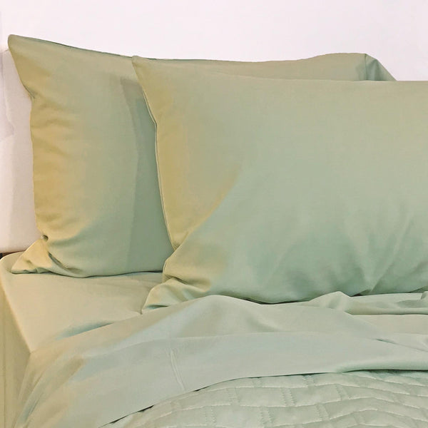 Bamboo Pillowcase Set Sage
