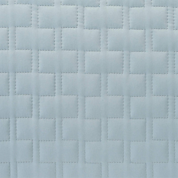 Bamboo Quilted Coverlet Sky
