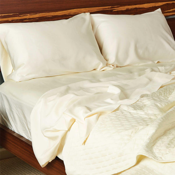 Bamboo Pillowcase Set Ivory