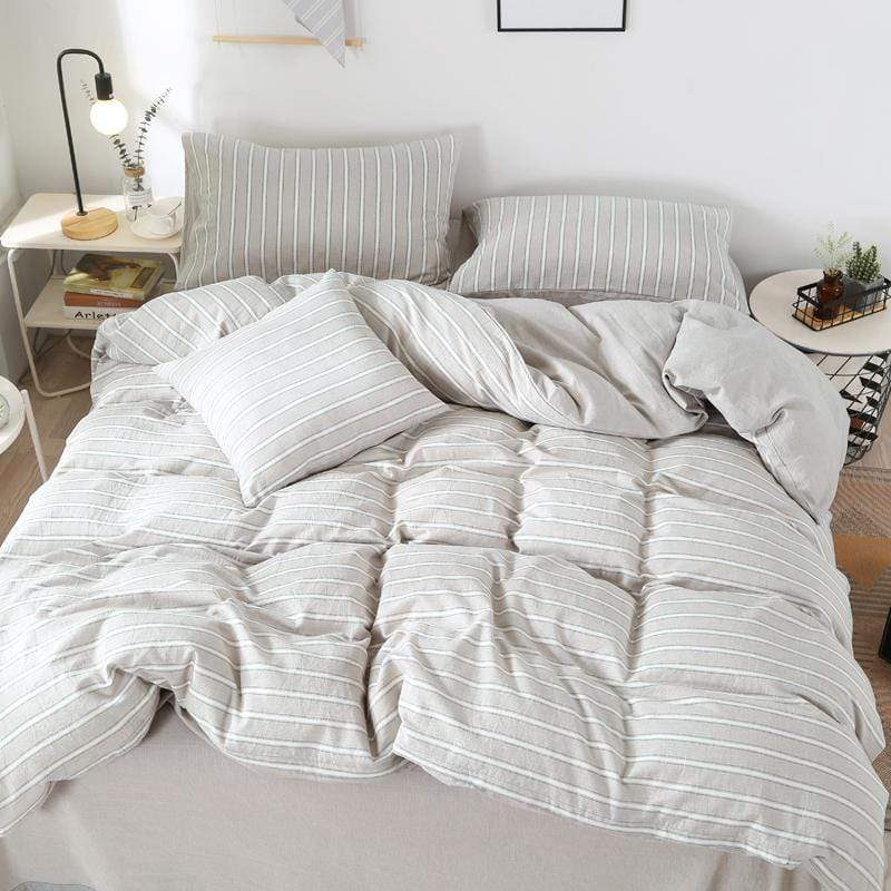 Teneriffe Washed Cotton Ultra Soft Summer Bedding Set
