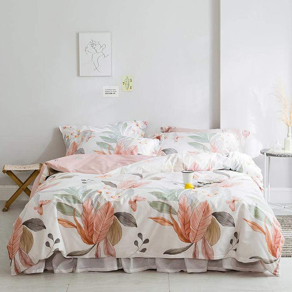 Moe Floral Summer Season Ultra Soft Bedding Set