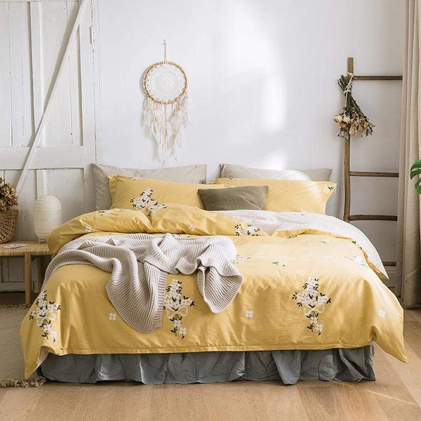 Victoria Floral Summer Season Ultra Soft Bedding Set