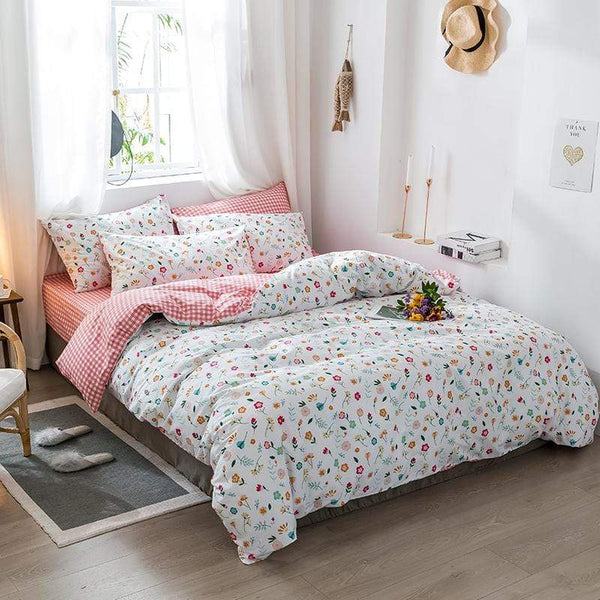 Clayfield Breathable Soft Cotton Bedding Set
