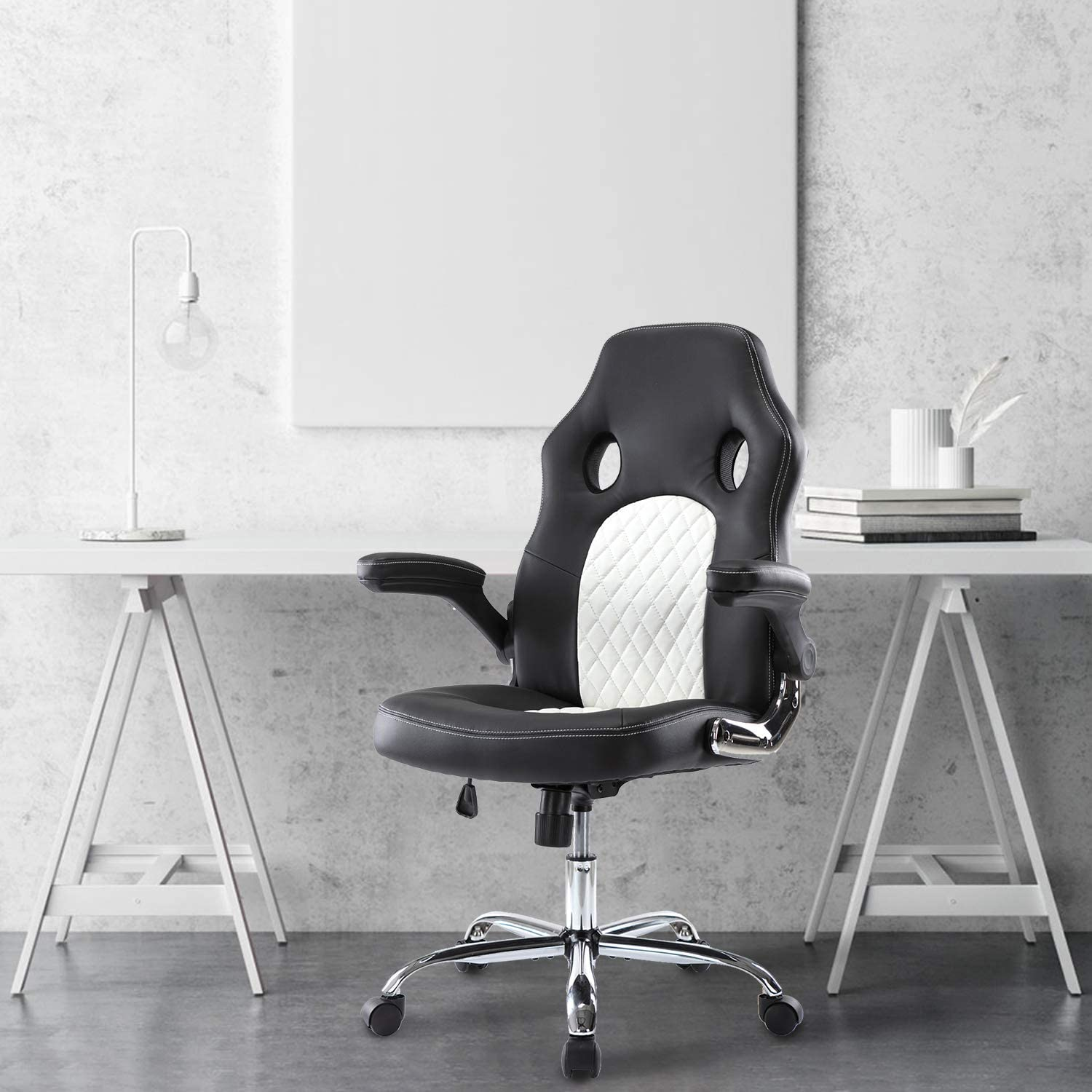 Kennewick - Adjustable Leather Office Gaming Chair