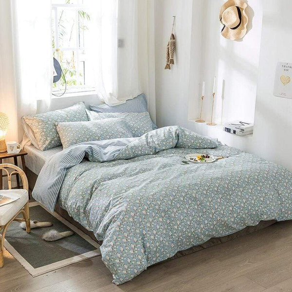 Kedron Breathable Soft Cotton Bedding Set