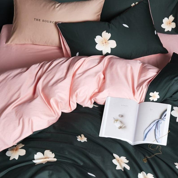 Ballina Chamonix 100% Egyptian Cotton Bedding Set | Guccio Home