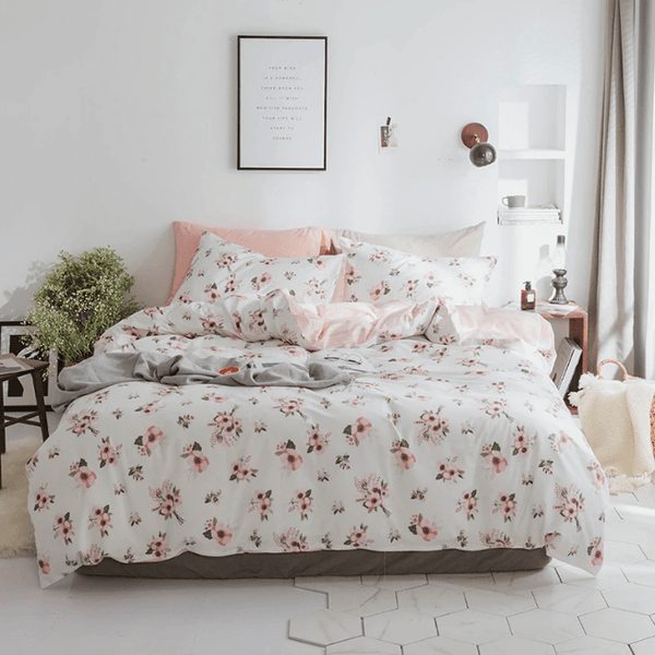 Kempsey Summer Hue Cotton Bedding Set