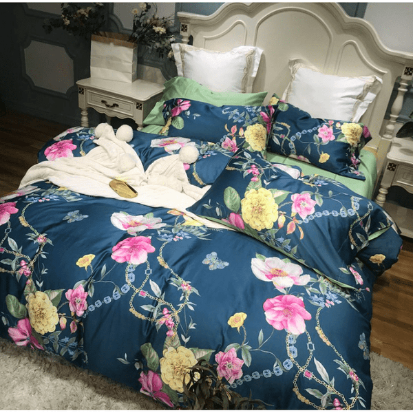 Blue Love Bedding Set