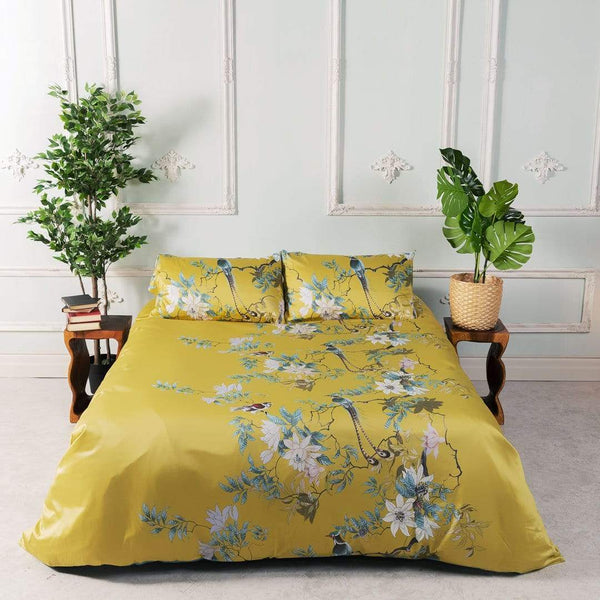 Floral Sophistication (Egyptian Cotton sheets)