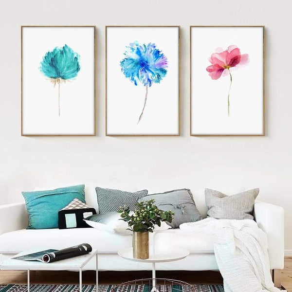 Watercolor Art  Canvas