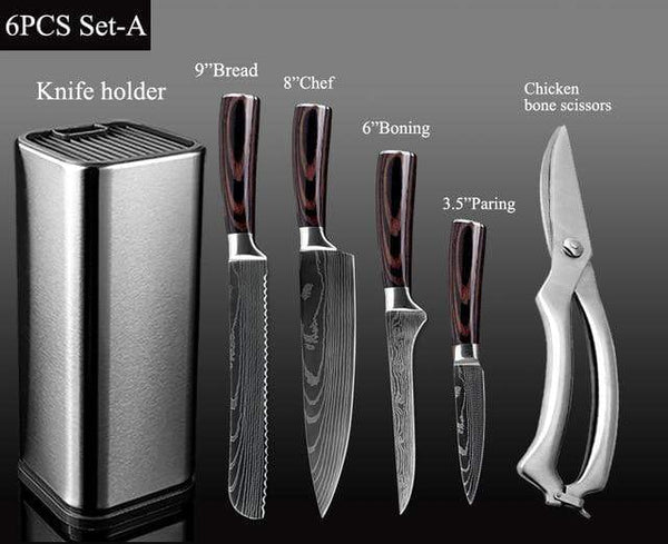 Deinze Chef Knife Set