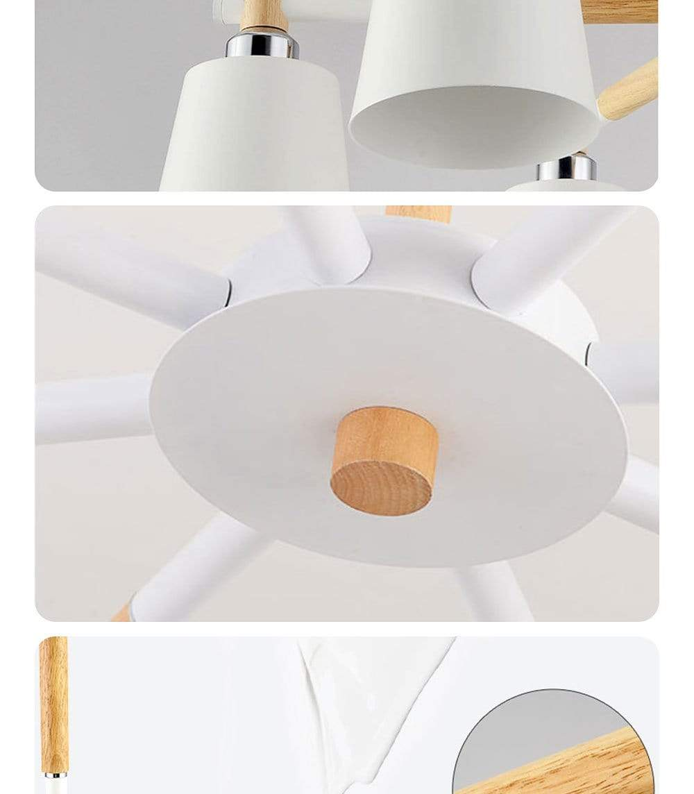 Liévin Multi-light LED Pendant Lamp