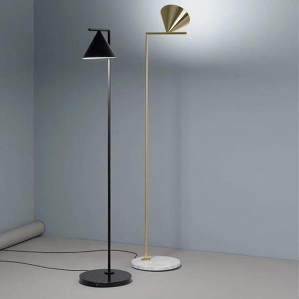 gold-and-black-cone-shade-floor-lamp-Zavato-Home