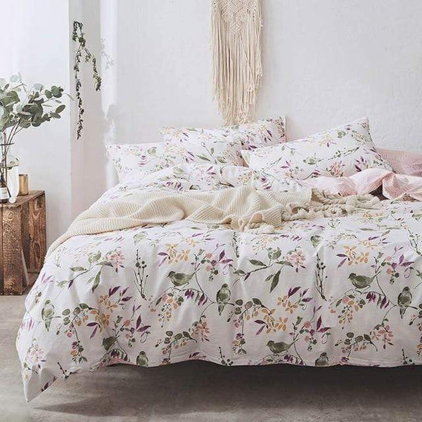 Birds & Blossoms Bedding Set