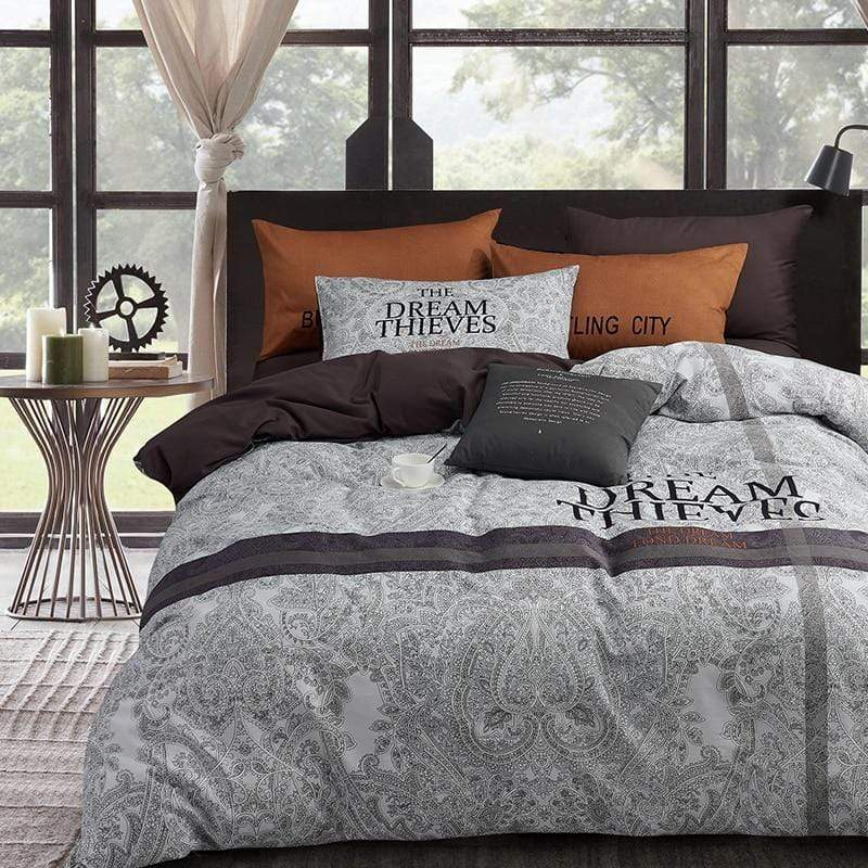 Derby 100% Cotton Summer Bedding Set