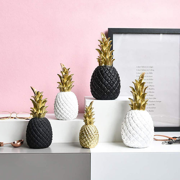 Golden Pineapple Figurine