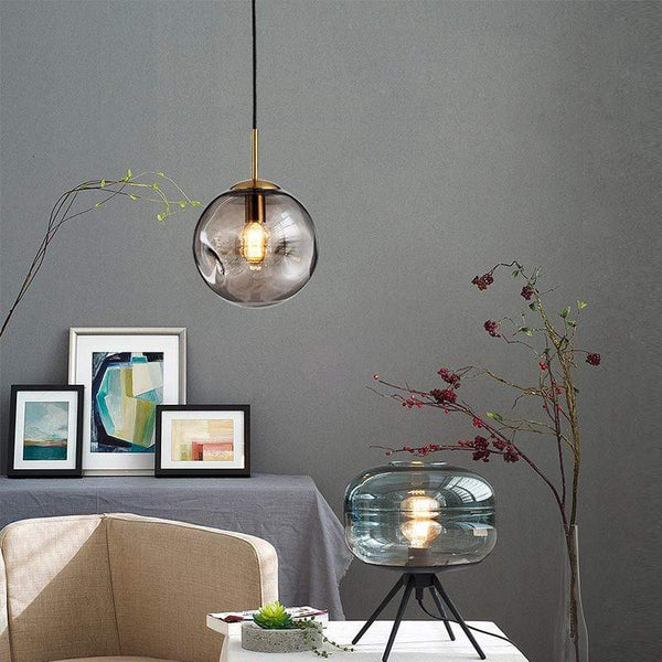 Wakefield Glass Ball Pendant Light