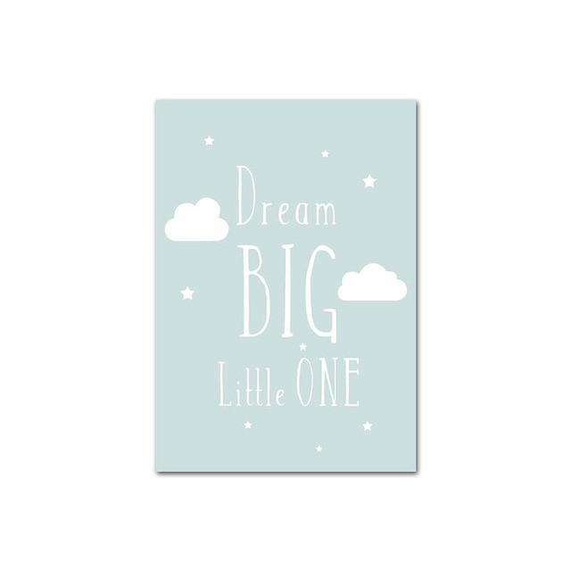 Baby Blue Canvas Art