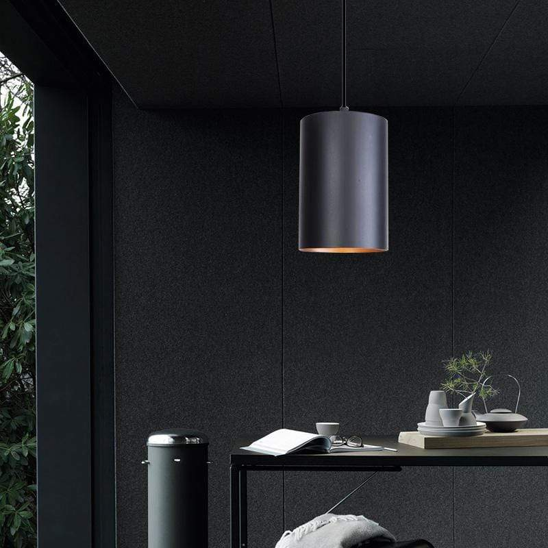 Vincennes Black Pendant Light