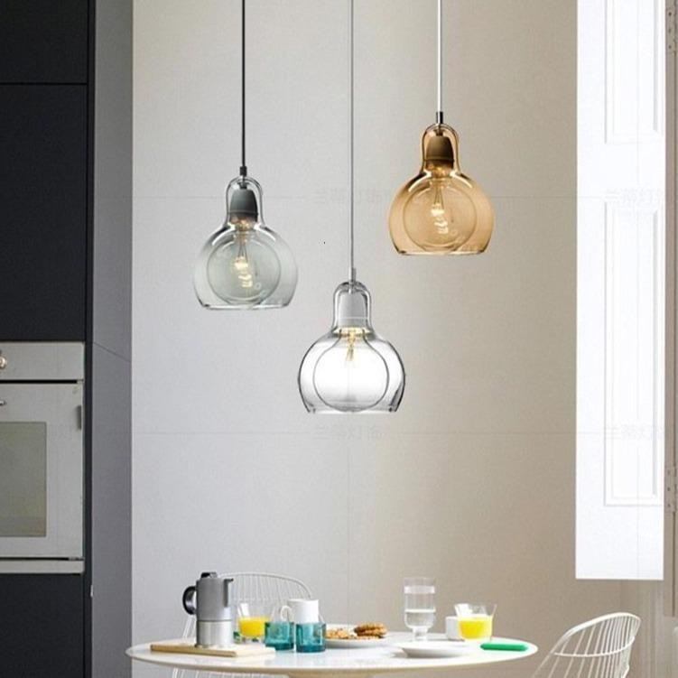 Narvik Modern Art Glass Pendant Lights