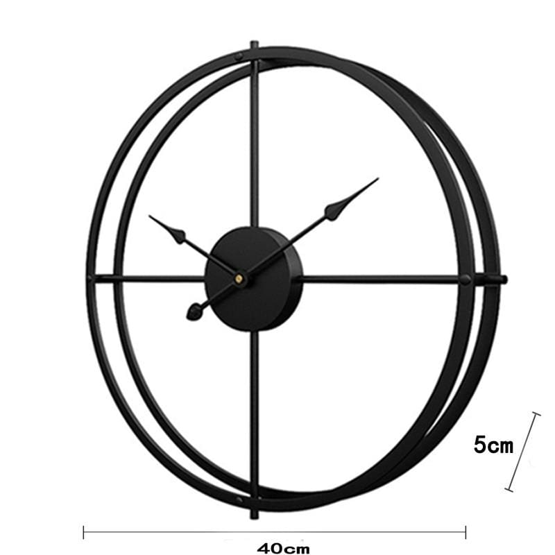 modern contemporary wall clock modern style wall clock Guccio Home
