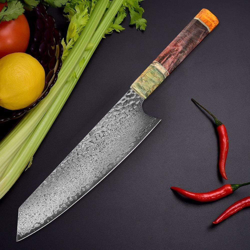 Chièvres Damascus Steel Knife