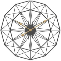 Amherst Diamond Shaped Wall Clock