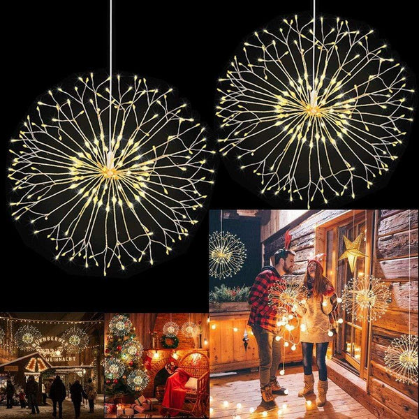 Fréjus 8-Mode Dandelion LED String Lamp