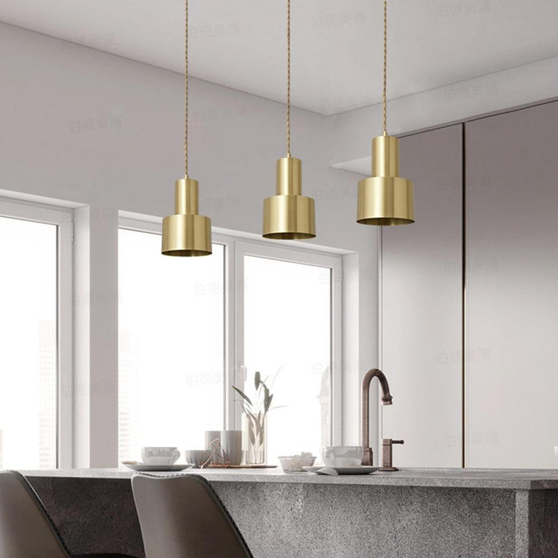 Rezé Golden Pendant Light