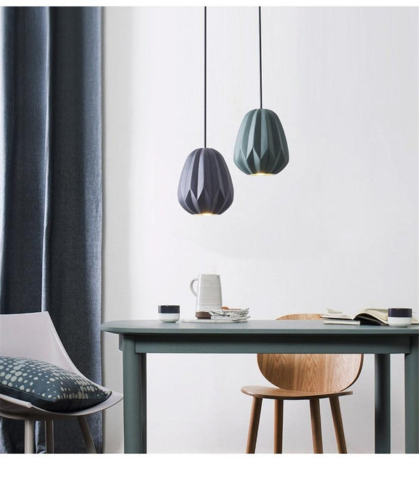Flekke LED Ceiling Geometric Pendant Light