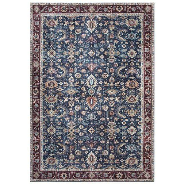 blue-maroon-distressed-vintage-rug-Zavato-Home