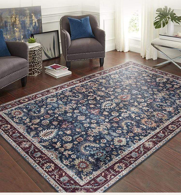 vintage-floor-rug-on-a-hardwood-floor-Zavato-Home