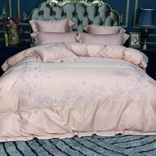 Rose Lace Quality Egyptian Cotton Bedding Set | Guccio Home