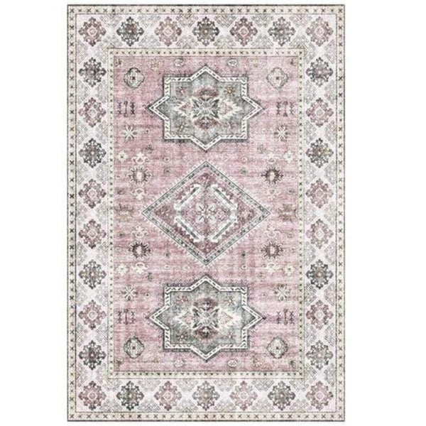 pink-and-grey-vintage-rug-Zavato-Home