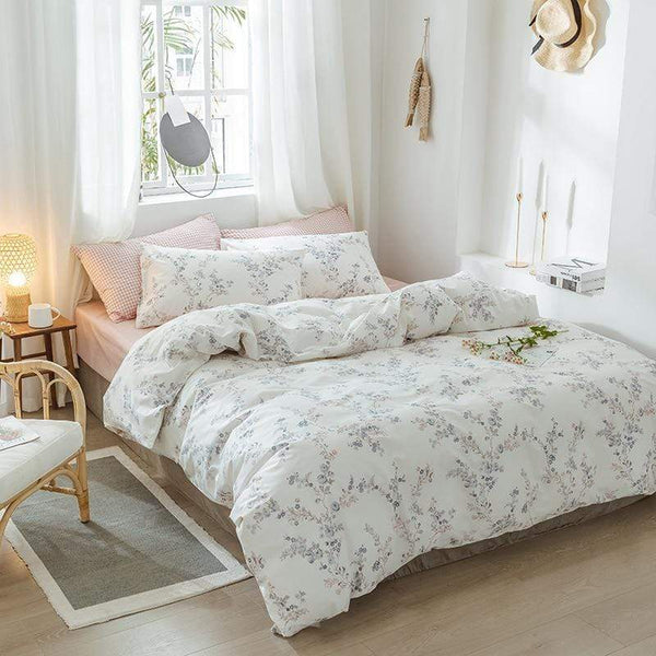 Wynyard Floral Print Ultra Soft Cotton Bedding Set