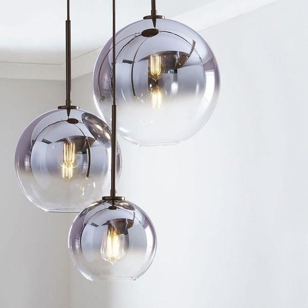 Courchevel Glass Pendant Light