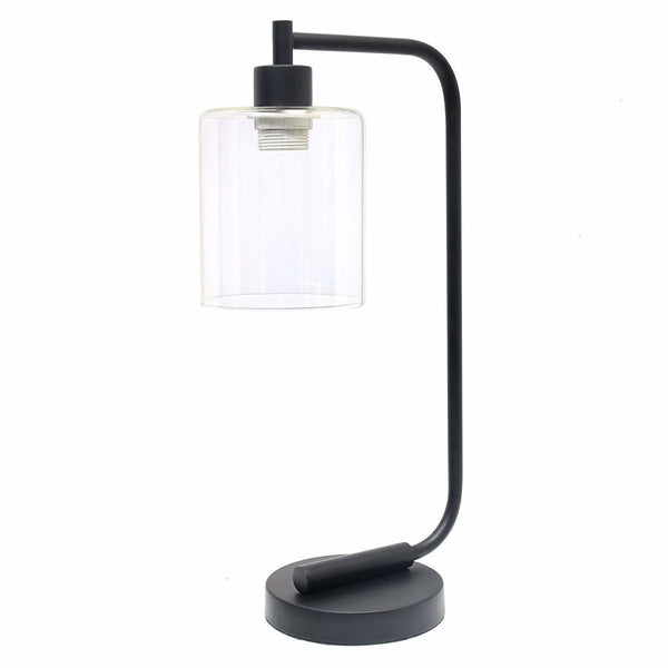 Bayonne Glass Desk Lamp