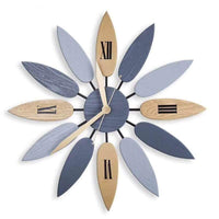 Feuilles Quartz Movement Wall Clock