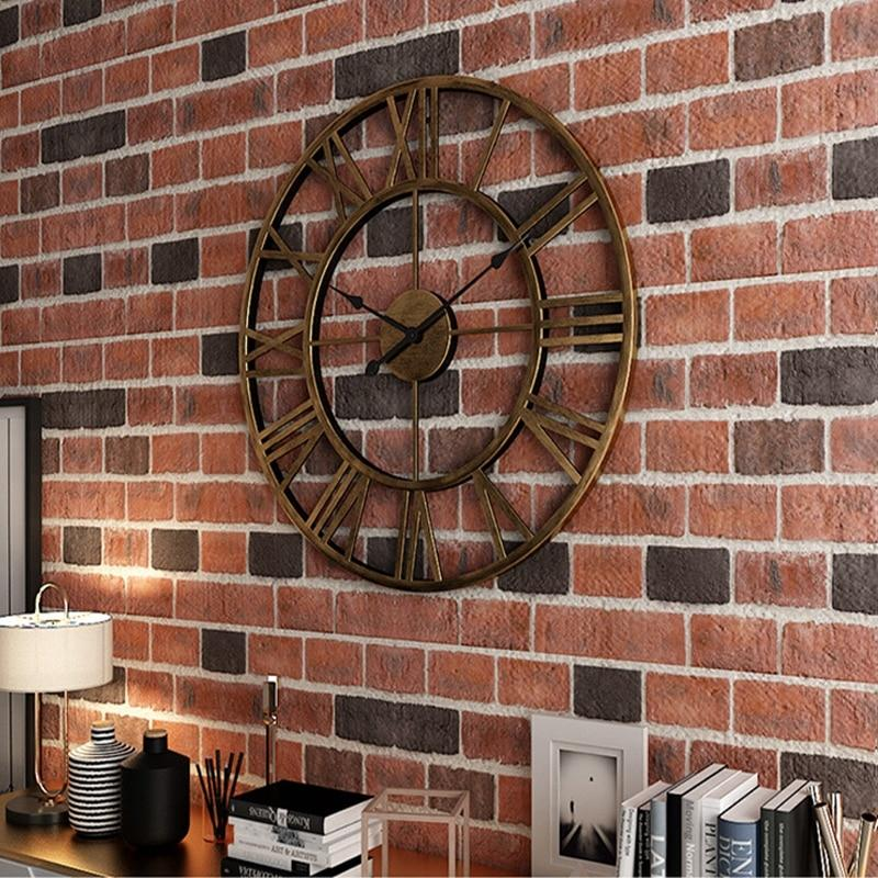 Rustic Wall Clock Large Guccio Home